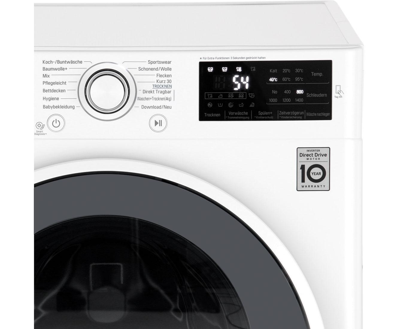 Lg f wd en waschtrockner kg waschen kg trocknen