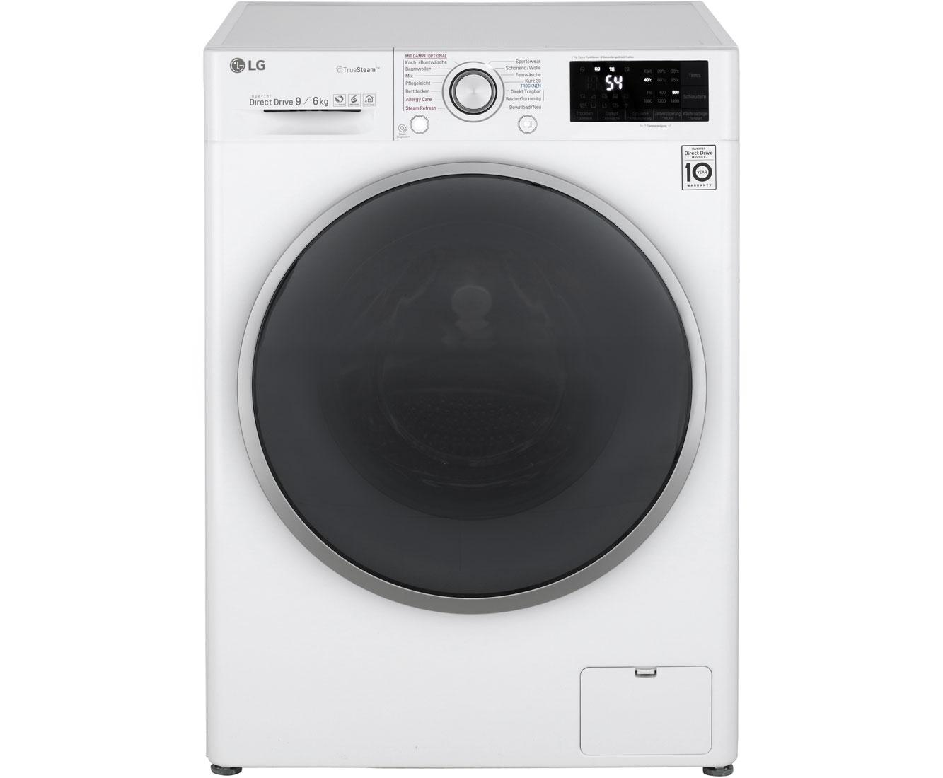 Lg f wd eh waschtrockner freistehend weiss neu ebay