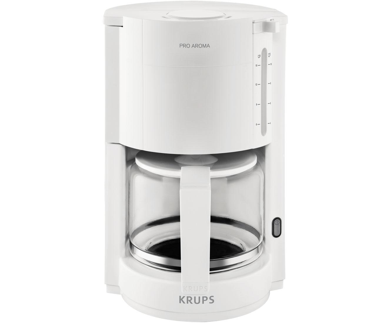 Krups ProAroma F309 01 Kaffeemaschinen - Weiss