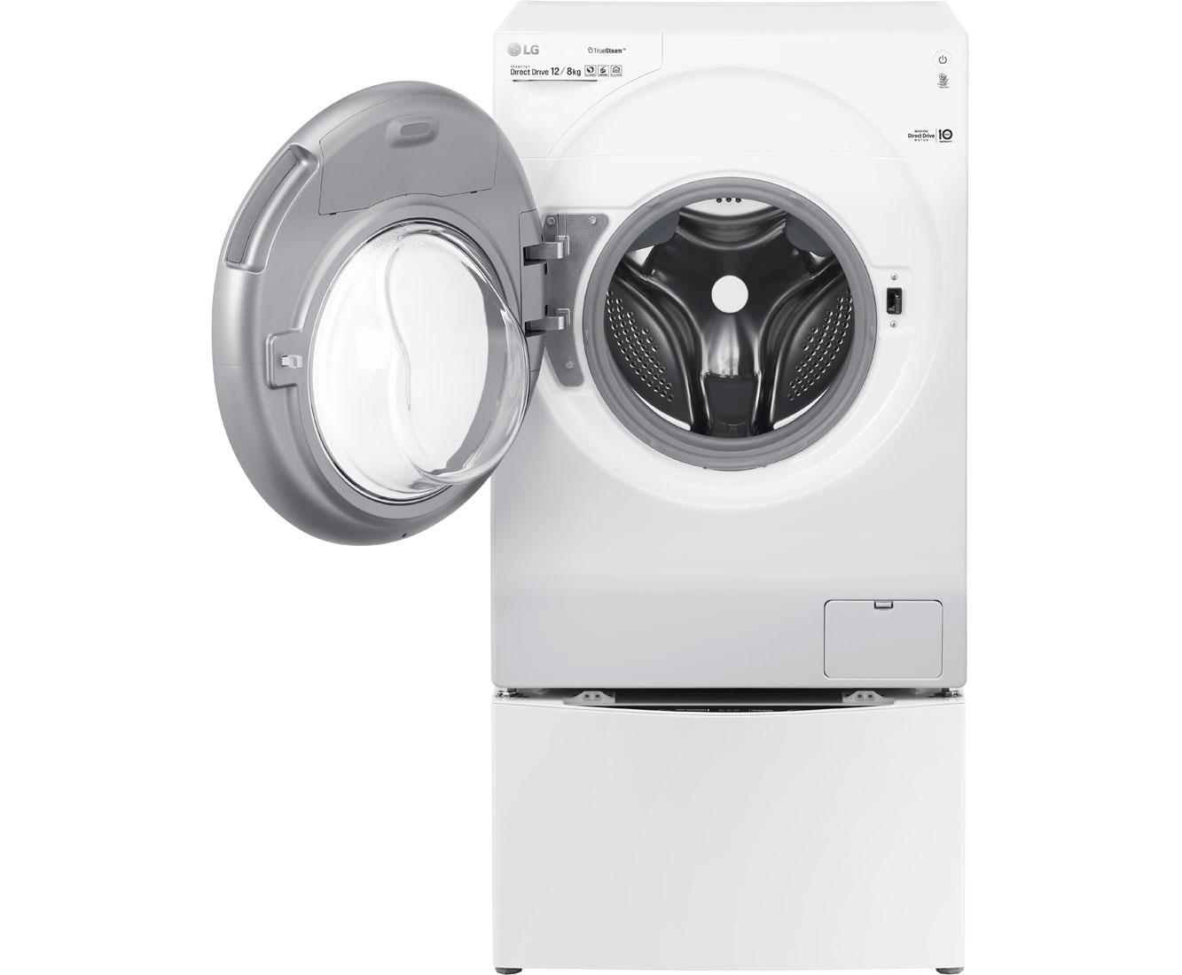 Lg f 6wd 128twin waschtrockner 12 kg waschen 8 kg trocknen 1600