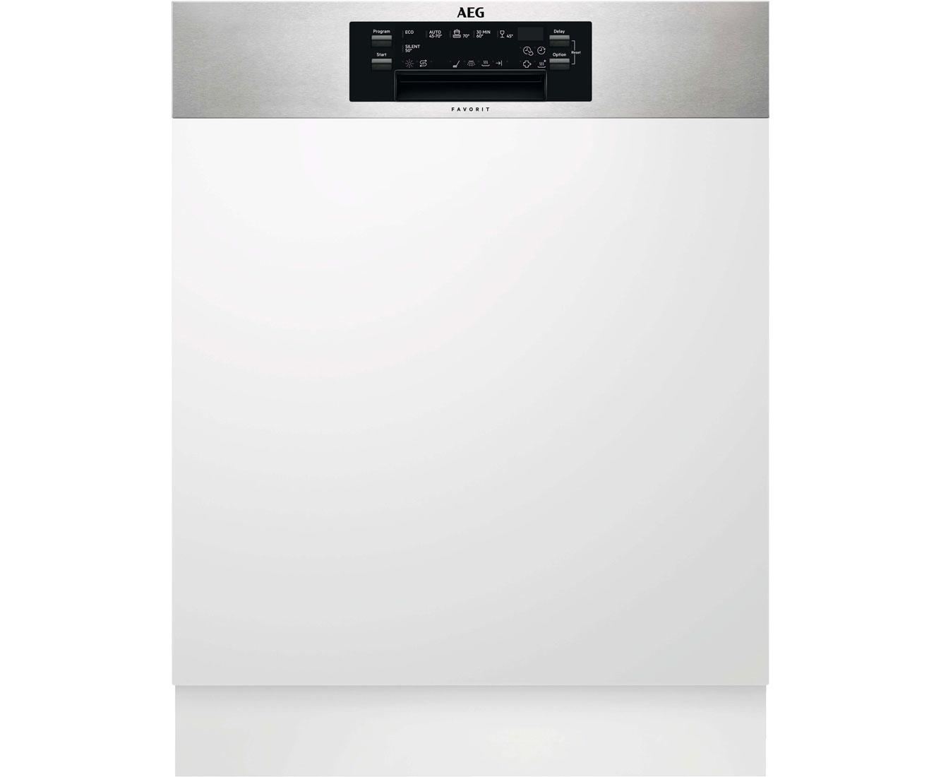 AEG FEE63720PM Geschirrspüler 60 cm - Edelstahl   Küche und Esszimmer > Küchenelektrogeräte > Gefrierschränke   Edelstahl   AEG