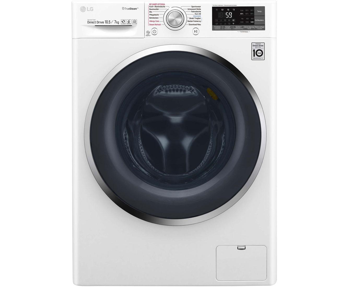 Lg ft wd th waschtrockner kg waschen kg trocknen