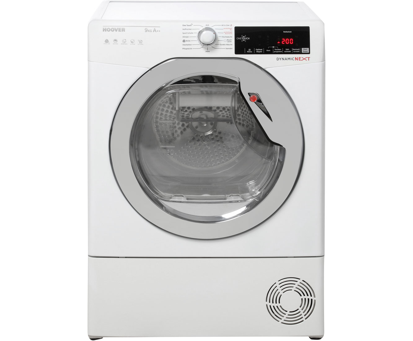 Hoover GDXHY9A2TCEX-84 Wärmepumpentrockner - Weiß | Bad > Waschmaschinen und Trockner > Wärmepumpentrockner | Weiß | Hoover