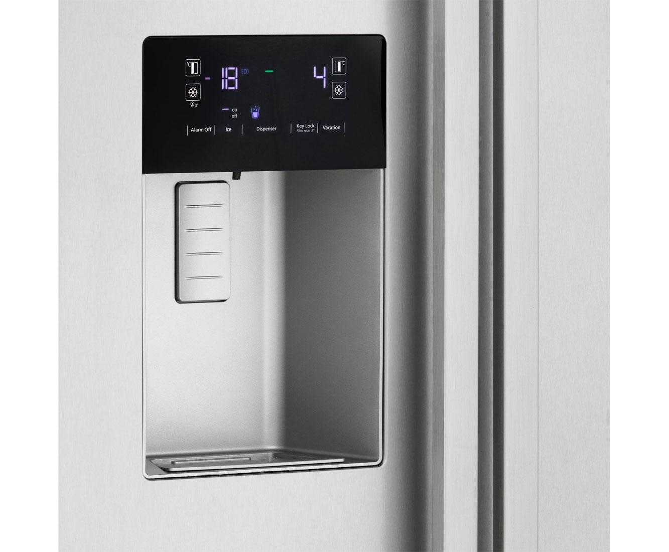Side By Side Kühlschrank Beko : Beko gn xb amerikanischer side by side mit wasserspender