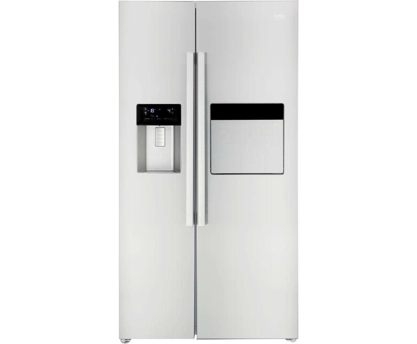 Side By Side Kühlschrank Mit Wassertank Und Barfach : Side by side kühlschrank mit wassertank und barfach side by side