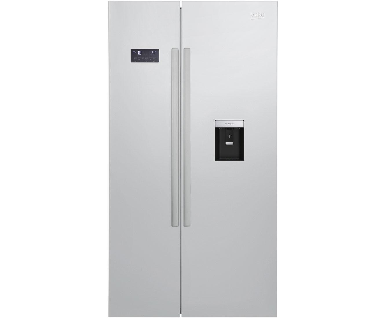 Side By Side Kühlschrank Mit 0 Grad Zone : Beko gn amerikanischer side by side mit wasserspender