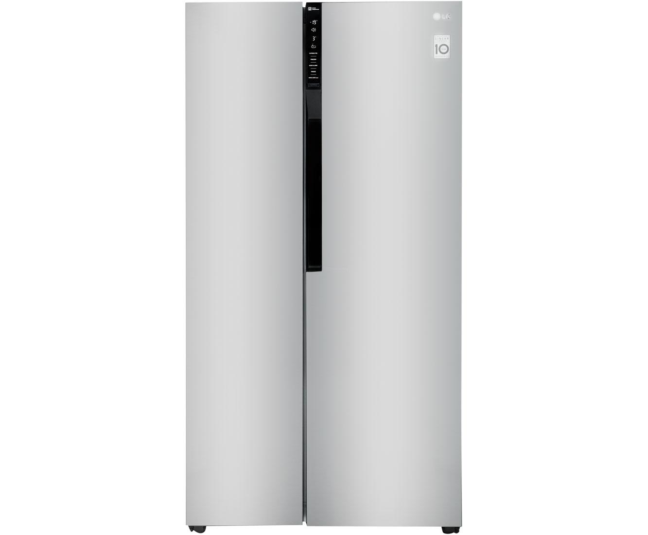 Side By Side Kühlschrank Vorteile Nachteile : Lg gsb basz amerikanischer side by side l edelstahl a