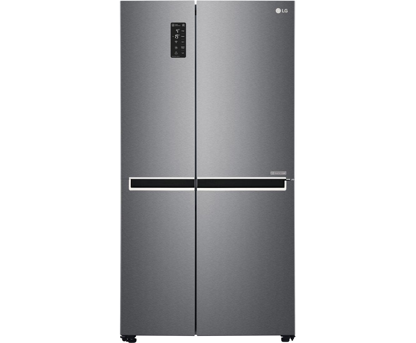 Privileg Amerikanischer Kühlschrank : Lg gsb basz amerikanischer side by side l graphit a