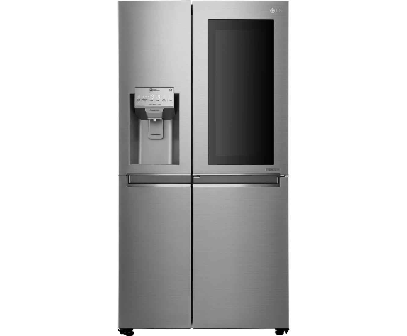 Lg Amerikanischer Kühlschrank Preis : Lg gsi pzaz amerikanischer side by side mit wasserspender