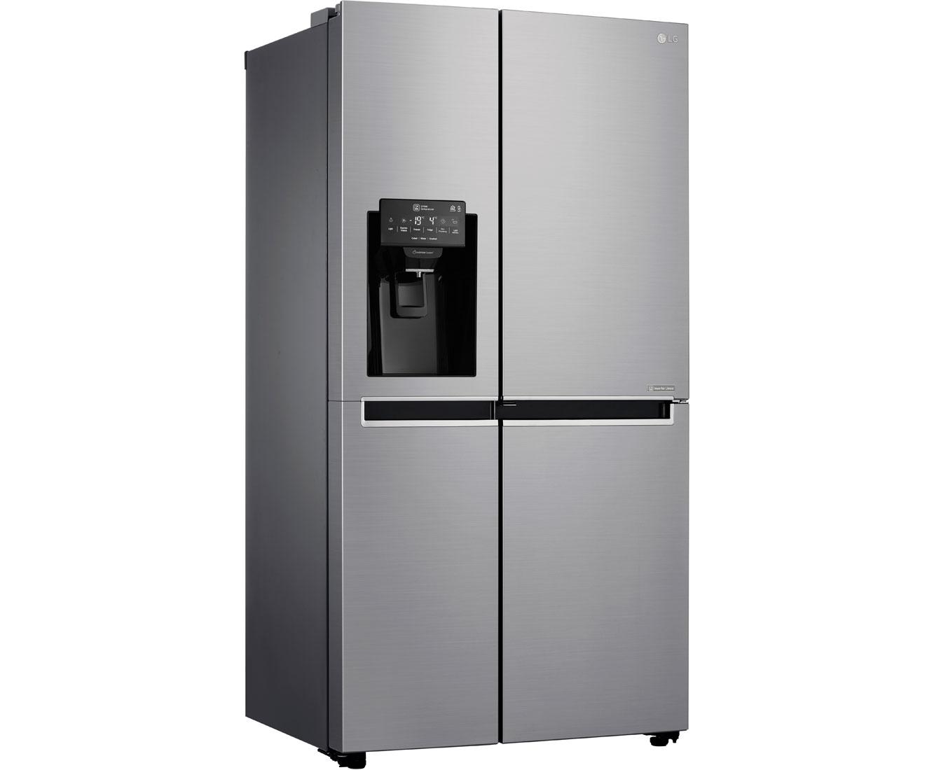 Lg Amerikanischer Kühlschrank Preis : Lg gsj didv amerikanischer side by side mit wasserspender