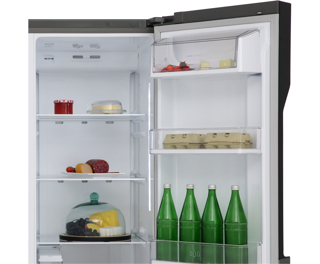 Side By Side Kühlschrank Pink : Lg gsl icez amerikanischer side by side mit wasserspender