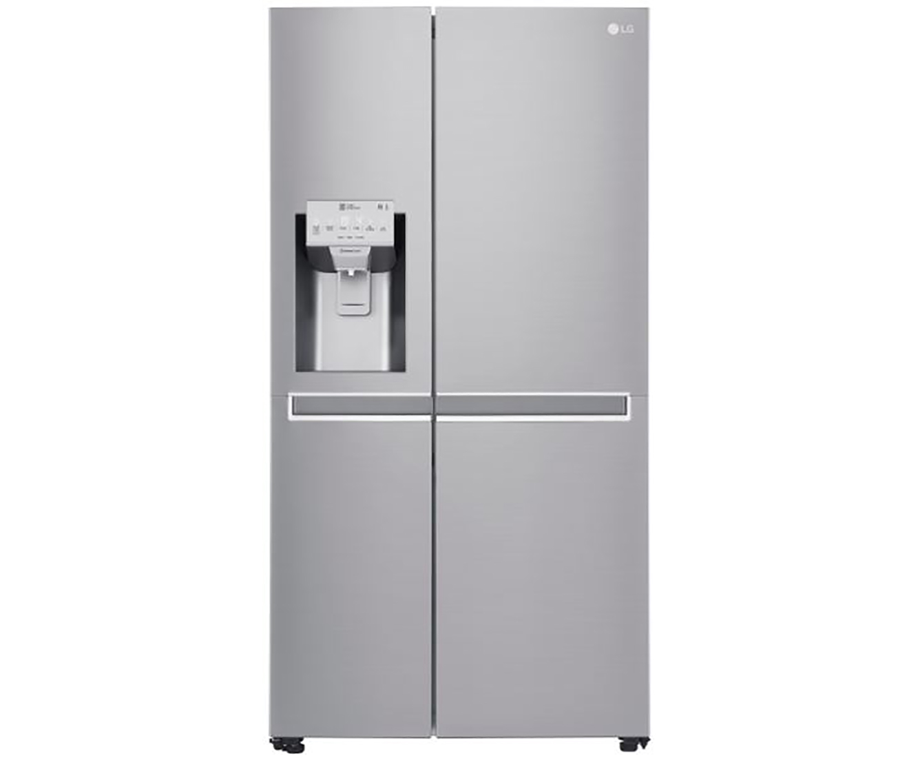 Amerikanischer Kühlschrank Maße : Lg gsl nebf amerikanischer side by side mit wasserspender