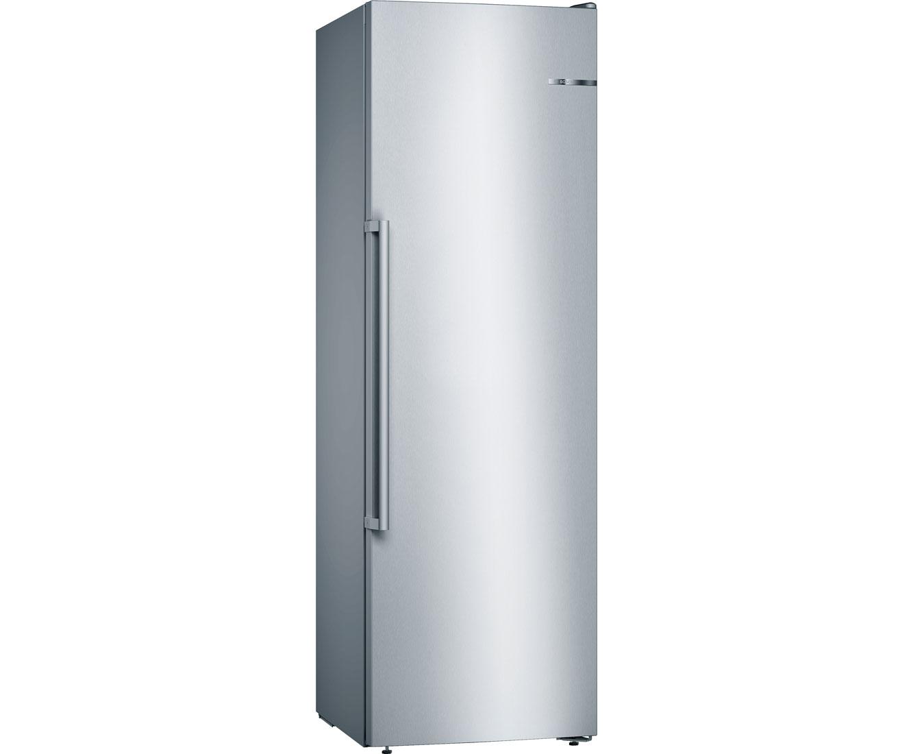 Bosch Kühlschrank Freistehend Mit Gefrierfach : Bosch gsn ai p gefrierschrank mit no frost l edelstahl a