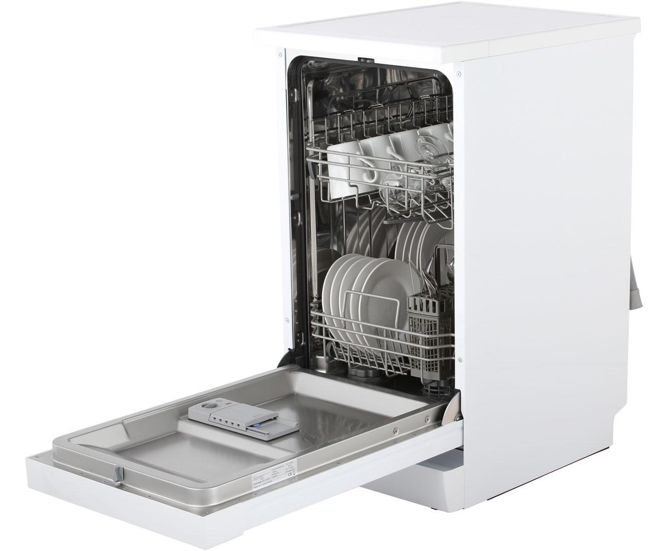 amica gsp 14742 w geschirrsp ler freistehend 45cm weiss neu ebay. Black Bedroom Furniture Sets. Home Design Ideas