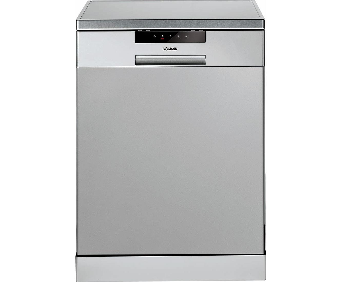 Bomann GSP 850 Geschirrspüler 60 cm - Silber   Küche und Esszimmer > Küchenelektrogeräte > Gefrierschränke   Silber   Bomann