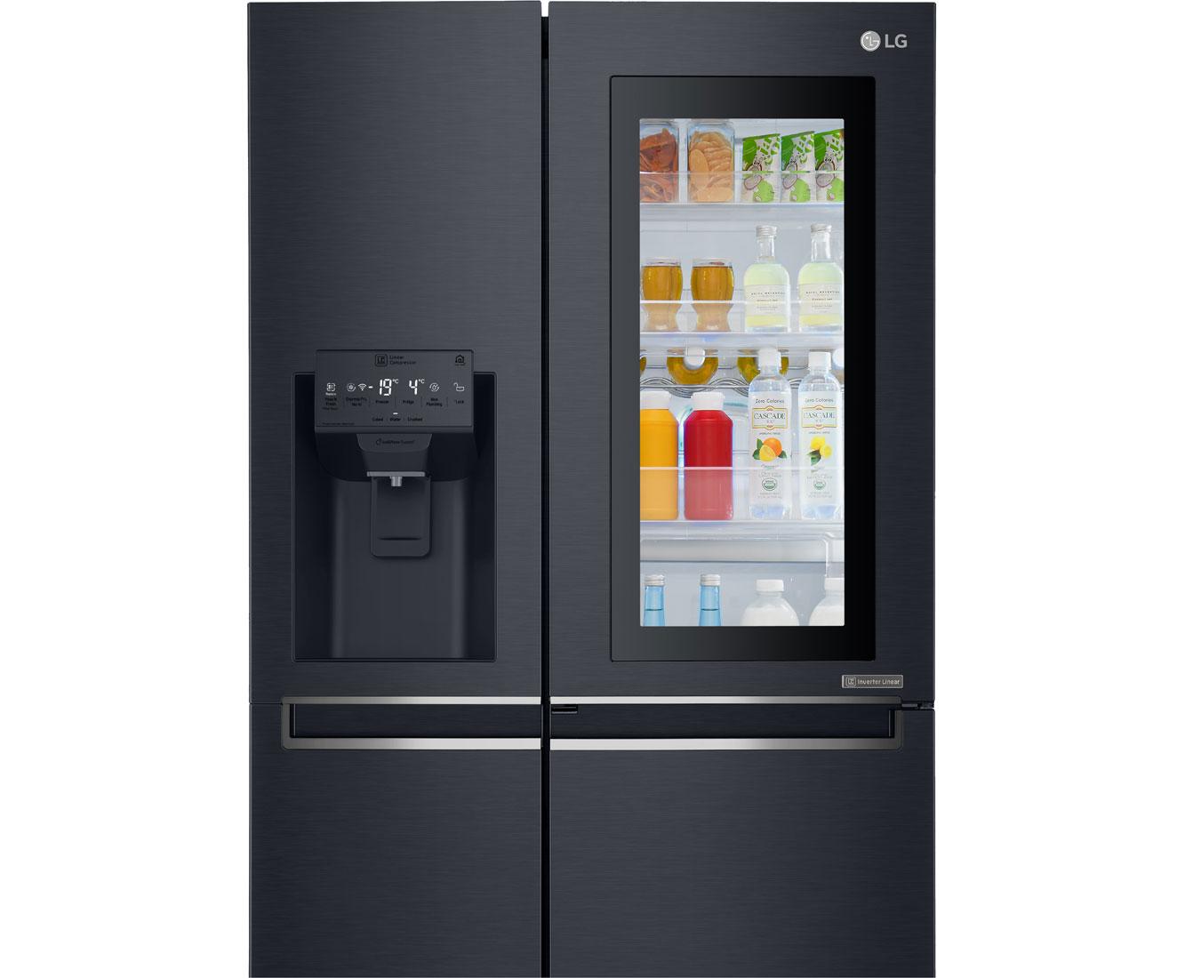 Side By Side Kühlschrank Lg Test : Kühlschrank lg gsx neaz kühlschrank tief kühlschrank tiefe neu