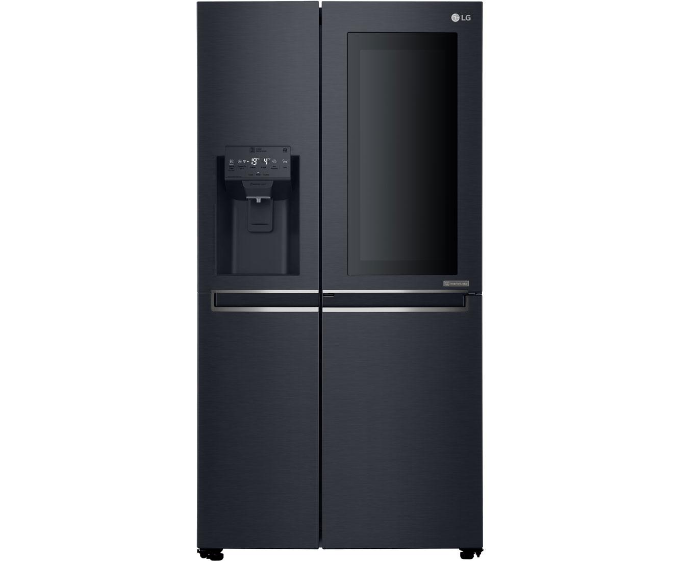 Amerikanischer Kühlschrank Expert : Side by side kühlschrank mit wassertank expert: siemens ka naw p