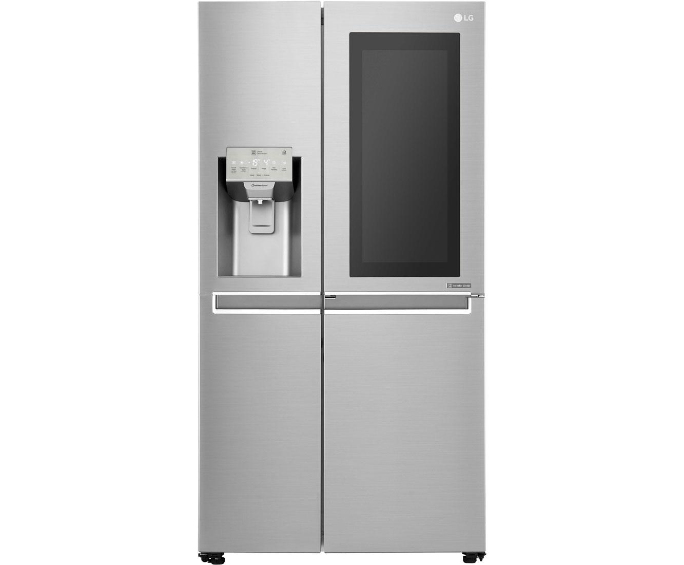 Amerikanischer Kühlschrank Lg : Lg gsx neaz amerikanischer side by side mit wasserspender