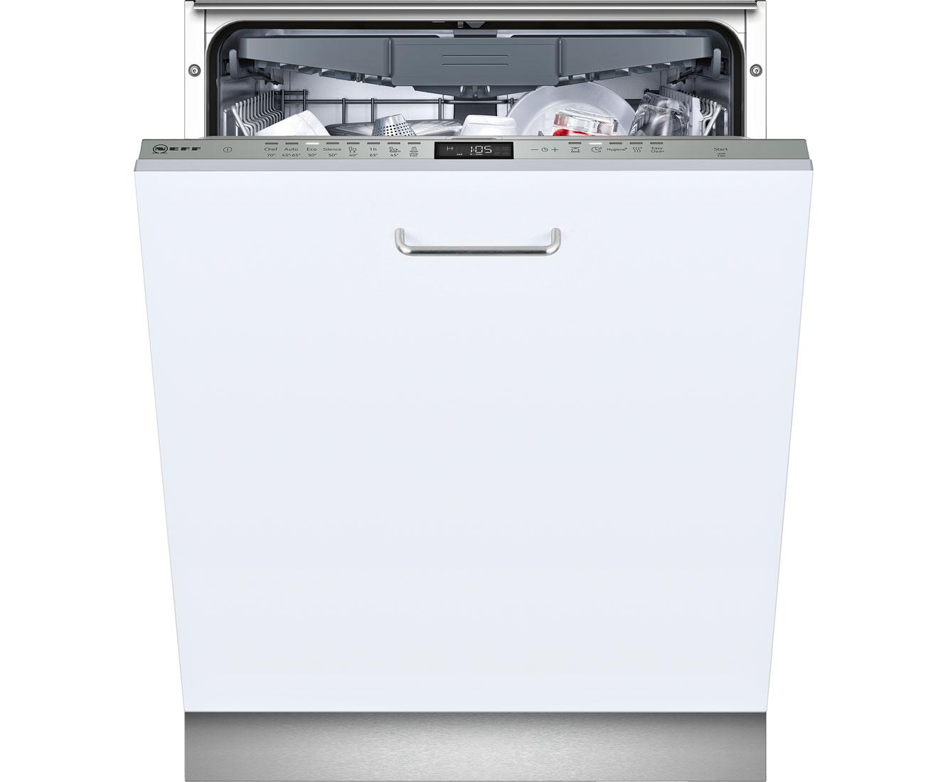 Neff GV5801M Geschirrspüler 60 cm - Edelstahl | Küche und Esszimmer > Küchenelektrogeräte > Gefrierschränke | Edelstahl | Neff