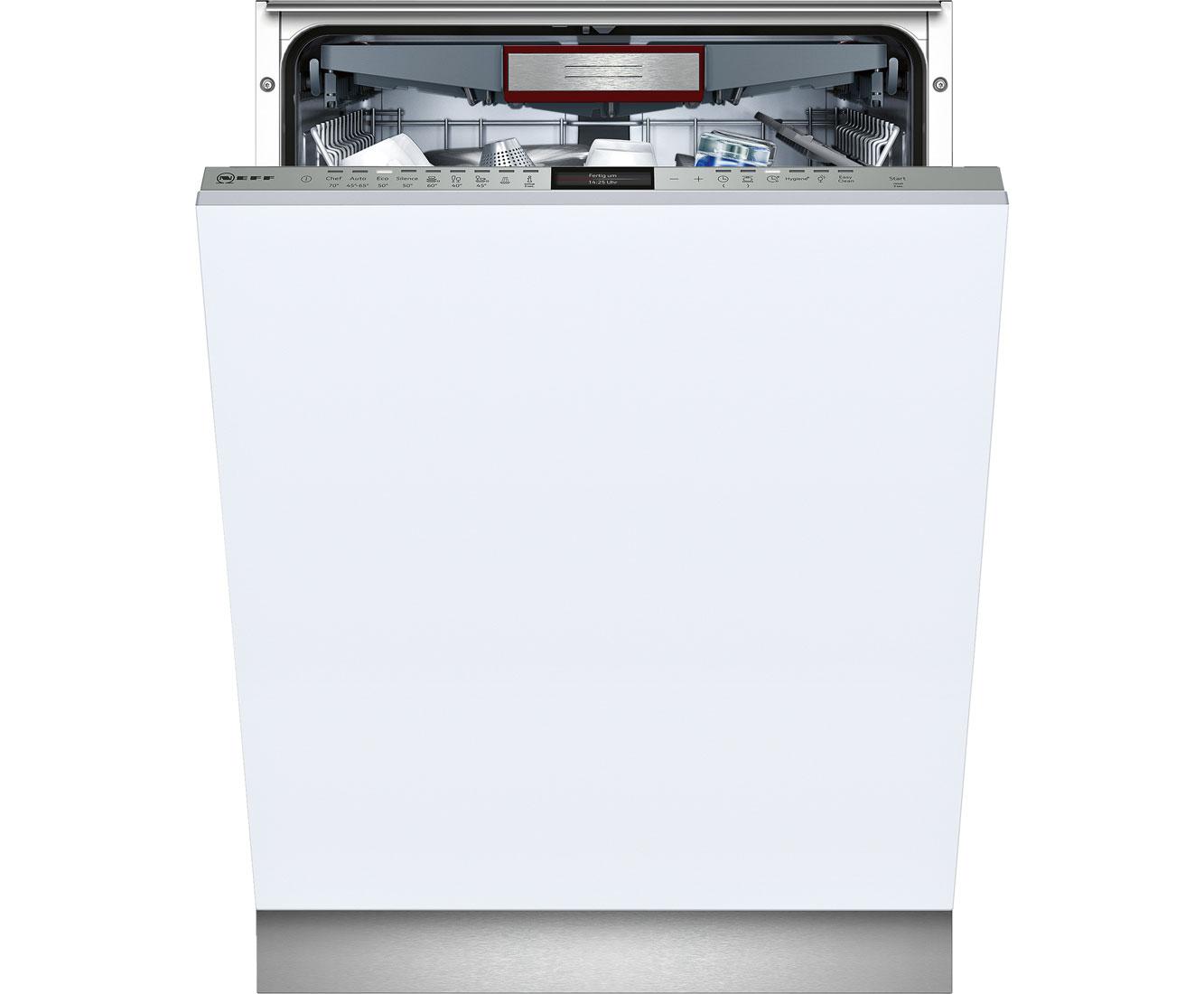Neff GV 6801 T Geschirrspüler 60 cm - Edelstahl | Küche und Esszimmer > Küchenelektrogeräte | Edelstahl | Neff