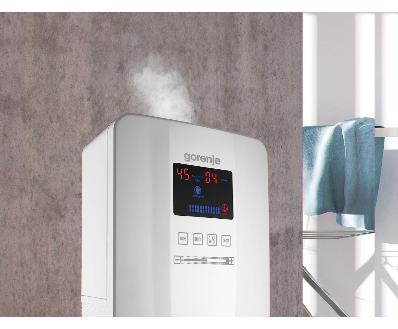 Gorenje H50dw Luftbefeuchter Mit Ultraschall Technologie Geeignet