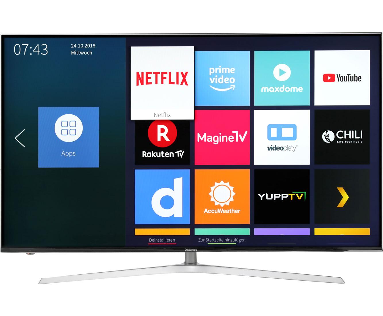 Hisense H50U7A Fernseher - Aluminium