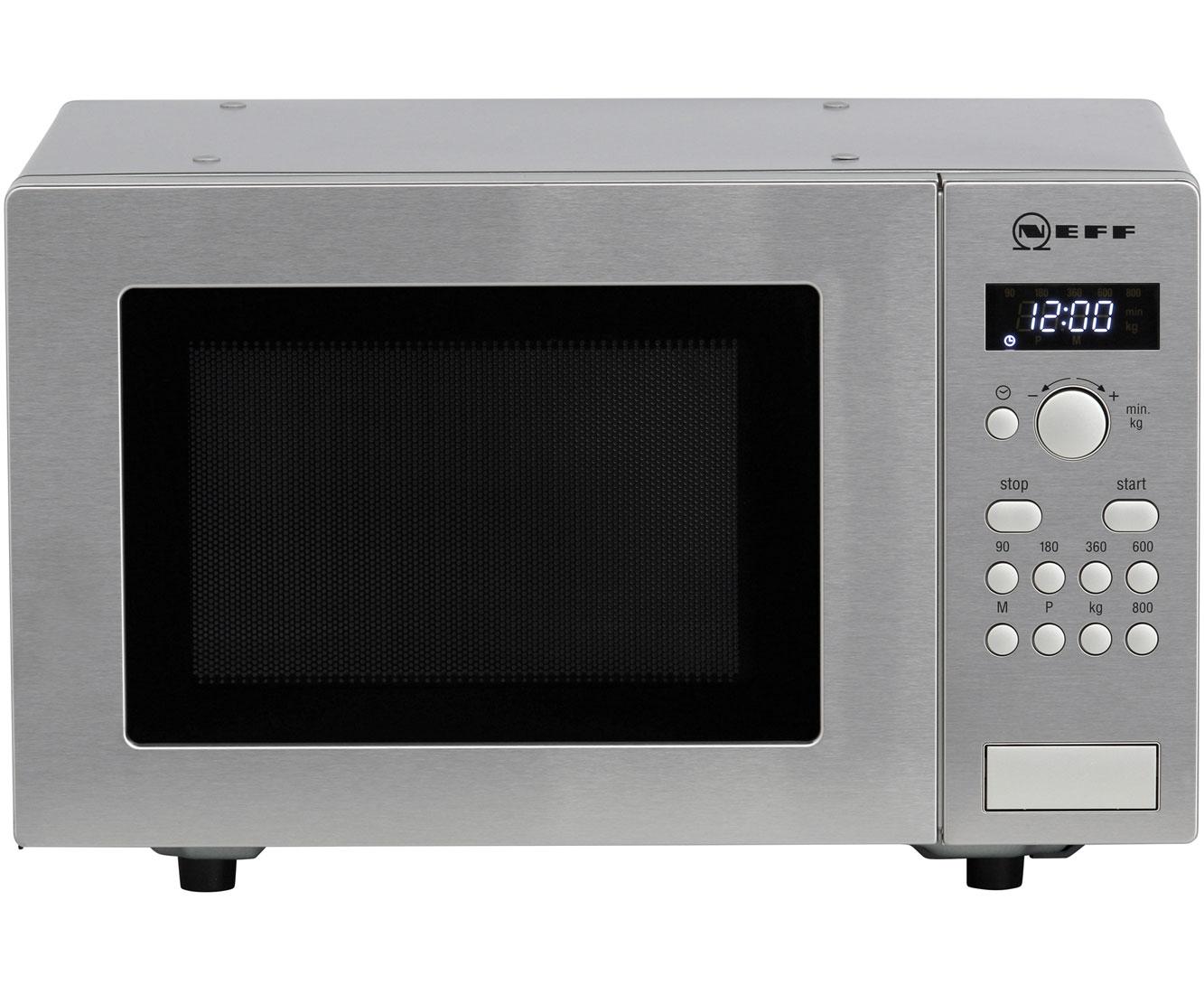 Neff H52W20N3 Mikrowellen - Edelstahl | Küche und Esszimmer > Küchenelektrogeräte > Mikrowellen | Edelstahl | Neff