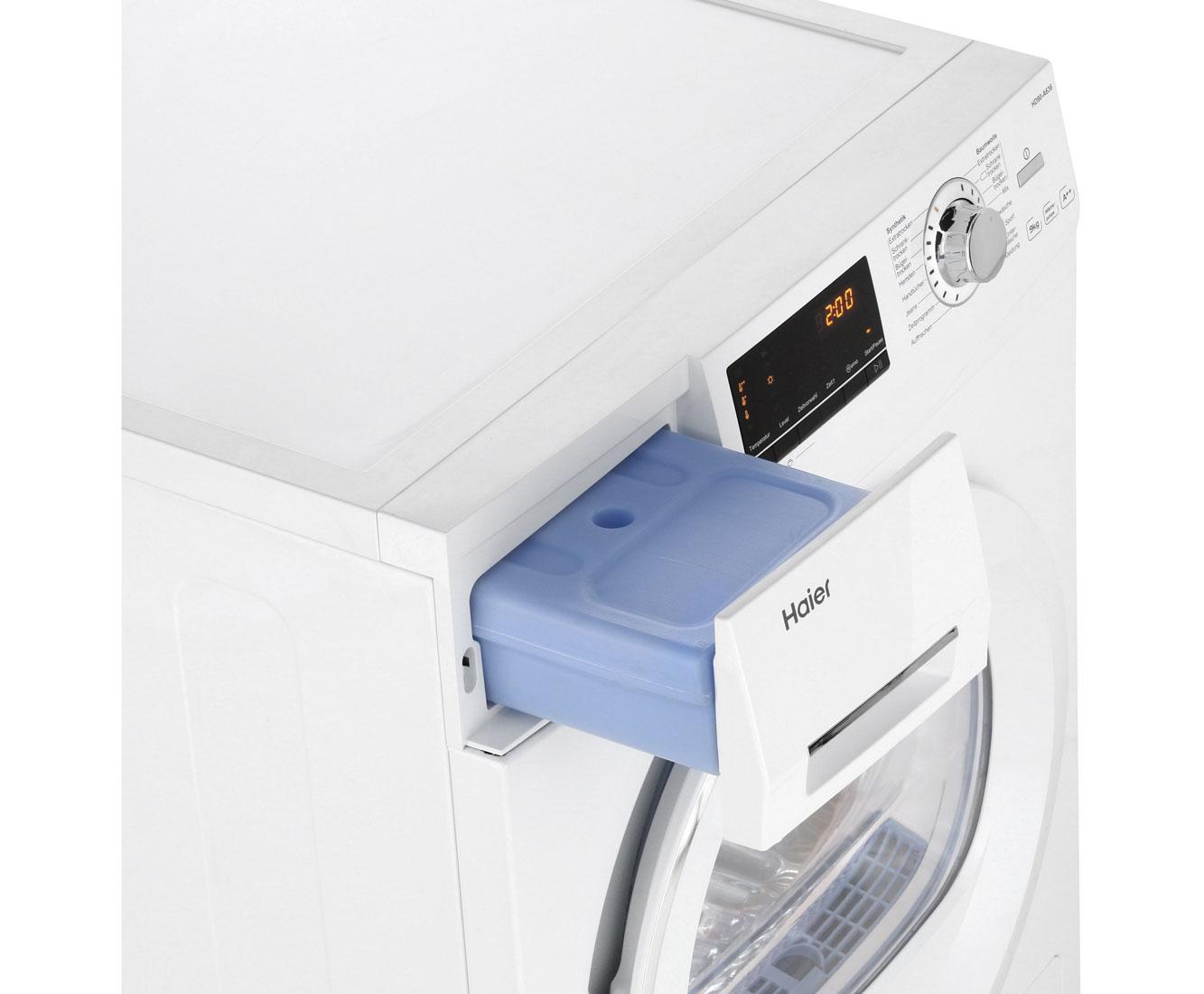 Haier hd90 a636 wärmepumpentrockner freistehend weiss neu ebay