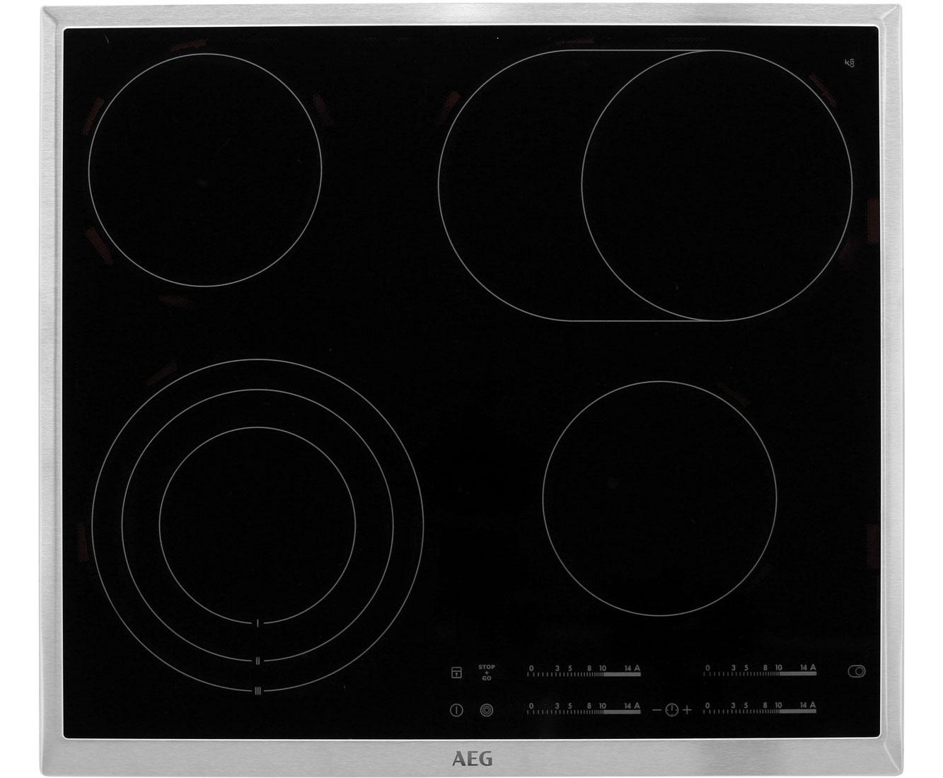 ... AEG HKA6507RAD Glaskeramik Kochfeld, Autark, 60er Breite    HKA6507RAD_BK   1 ...
