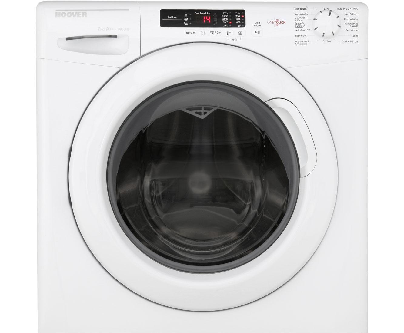Hoover hlc o d waschmaschine kg u min a