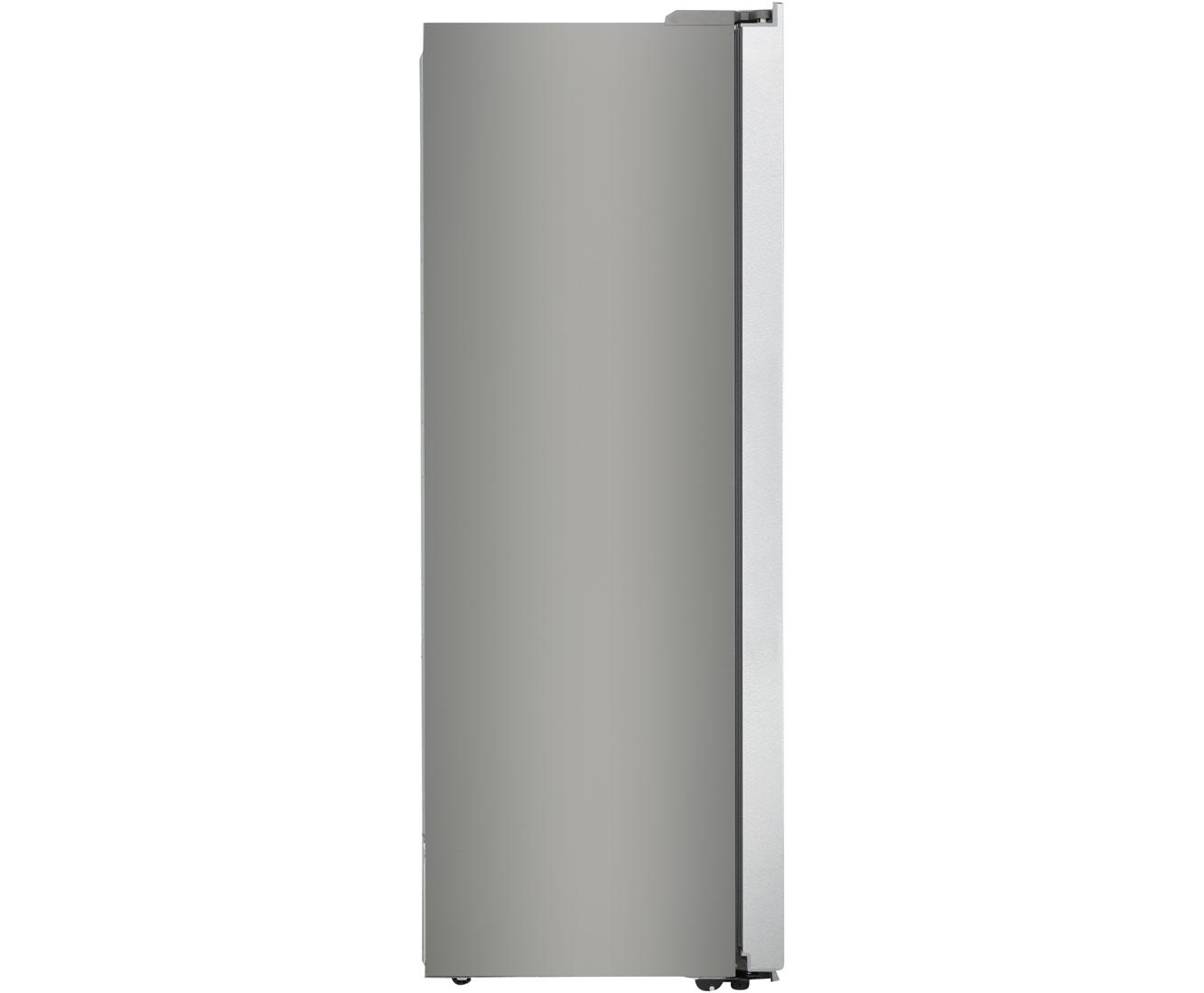 Amerikanischer Kühlschrank Idealo : Haier hrf ds amerikanischer side by side l edelstahl