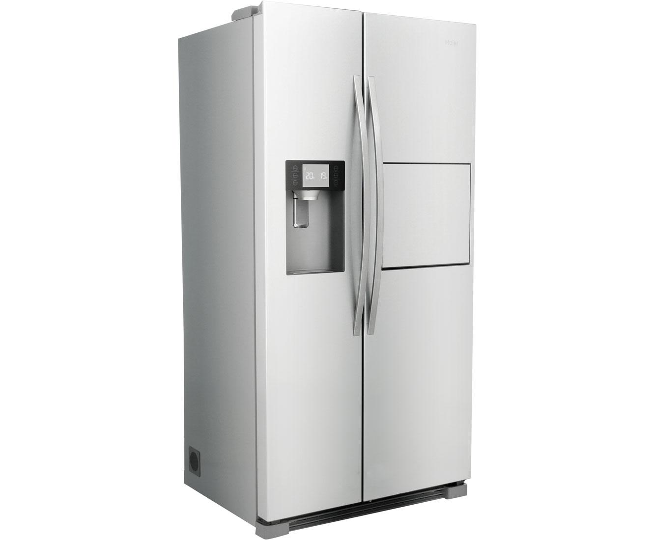 Amerikanischer Kühlschrank Haier : Haier hrf 630am7 side by side freistehend edelstahl optik ebay