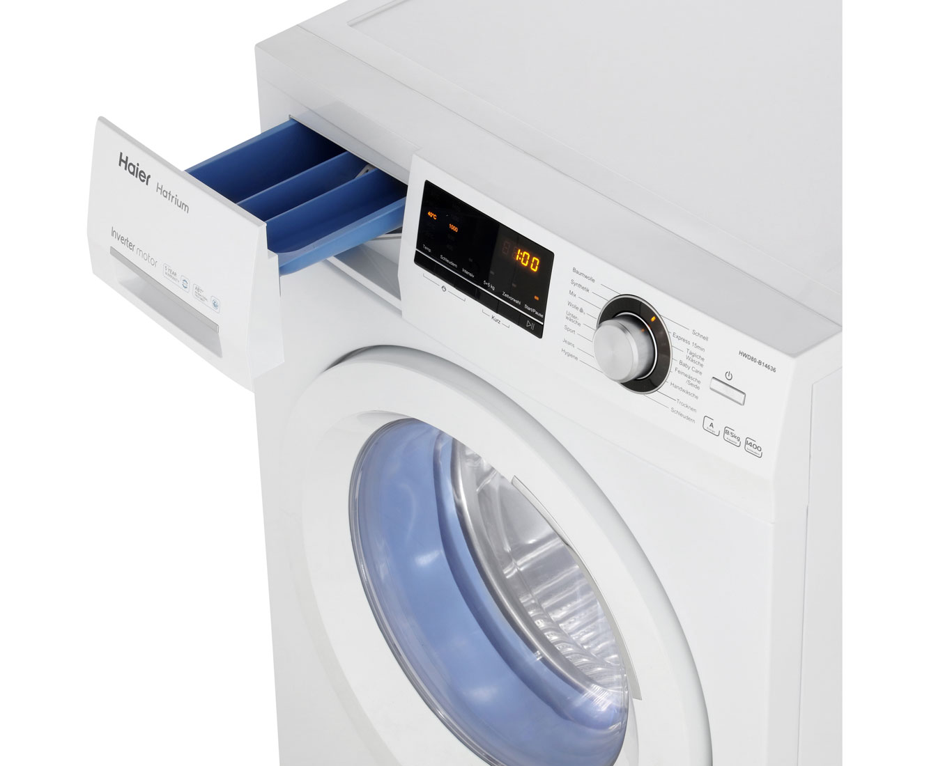 Haier hwd80 b14636 waschtrockner 8 kg waschen 5 kg trocknen
