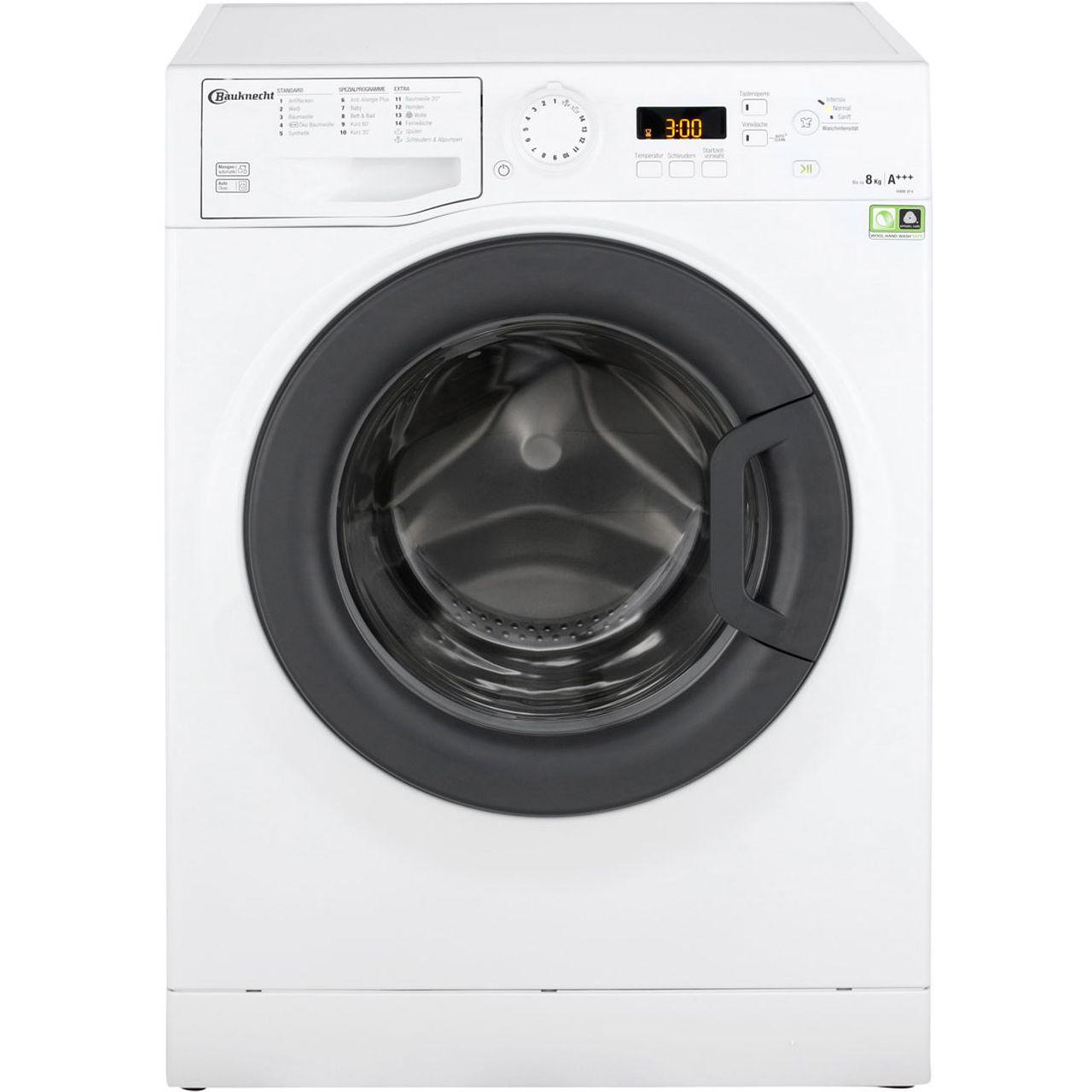 Bauknecht hwm f waschmaschine kg u min a
