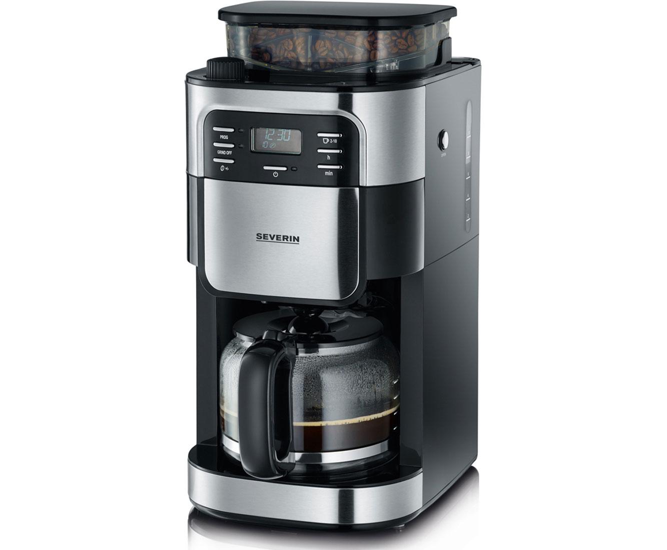 KA 4810 Kaffeemaschinen - Edelstahl / Schwarz