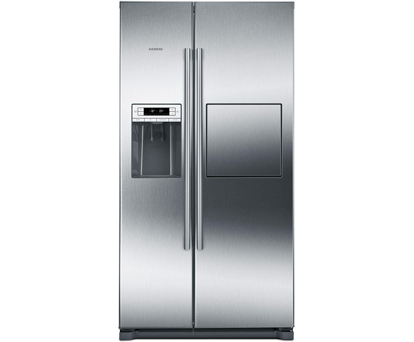 Side By Side Kühlschrank Verbrauch : Siemens iq ka gai amerikanischer side by side mit