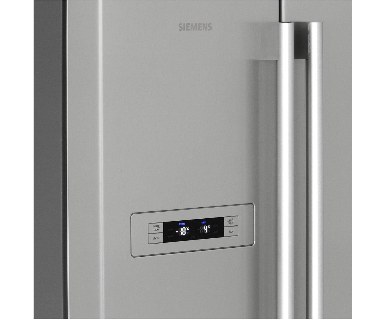 Siemens Kühlschrank Nach Abtauen Alarm : Siemens iq ka nvi amerikanischer side by side l