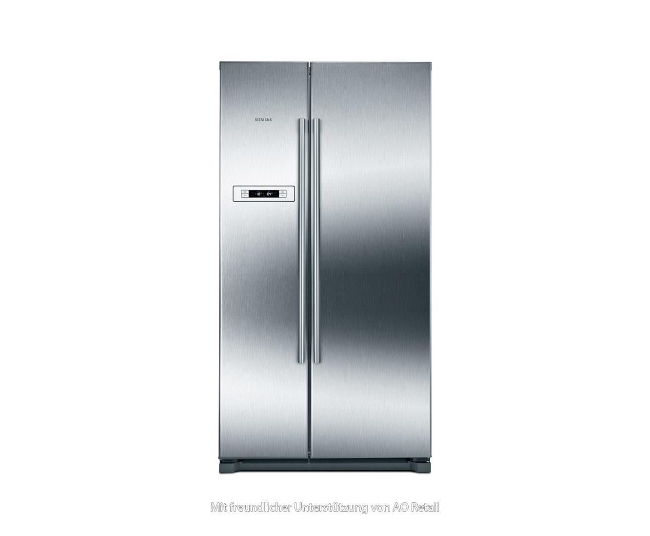 Amerikanischer Kühlschrank Edelstahl : Siemens iq ka nvi amerikanischer side by side l