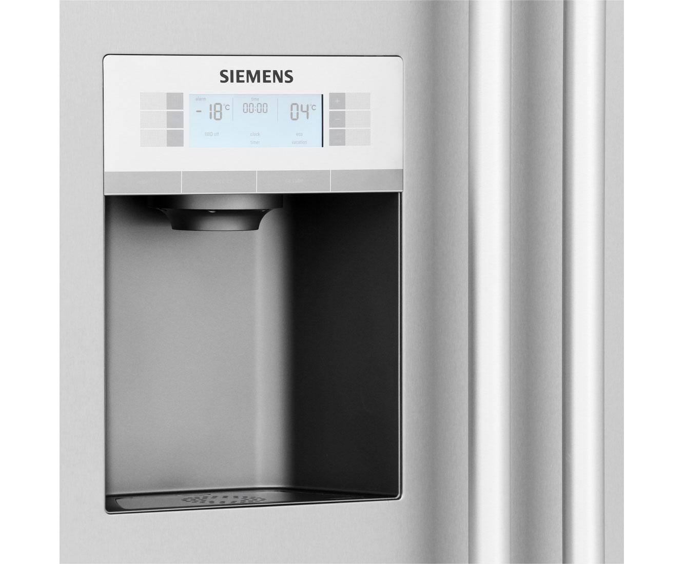 Siemens Kühlschrank Super Knopf : Siemens iq ka dai amerikanischer side by side mit