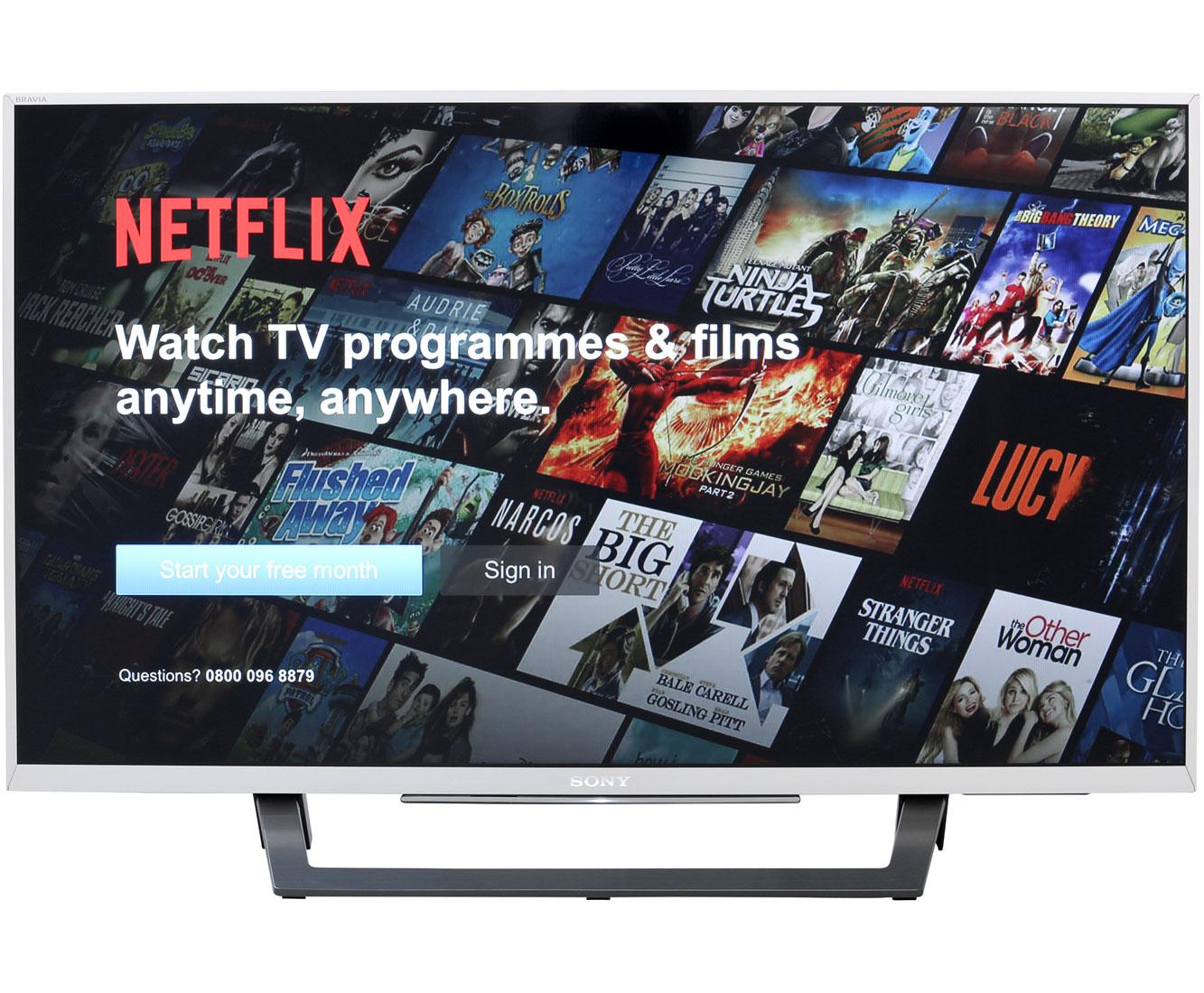 Sony KDL32WD757SAEP Fernseher - Silber