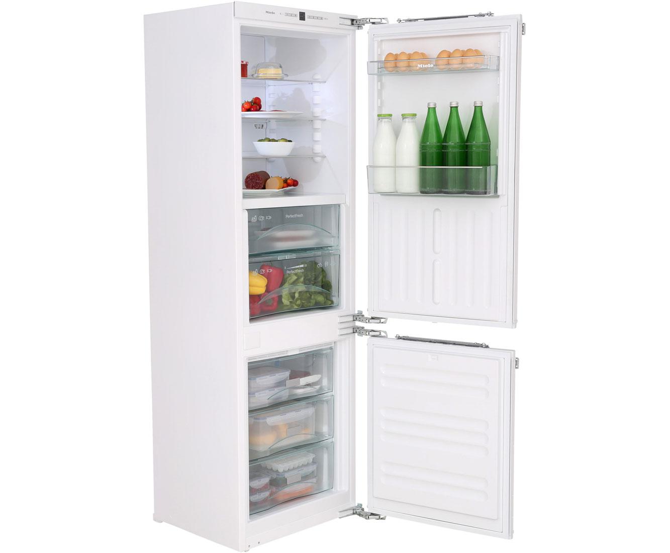 Einbaukühlgefrierkombination  Miele KFN 37282 iD Einbau-Kühl-Gefrierkombination mit No Frost mit ...
