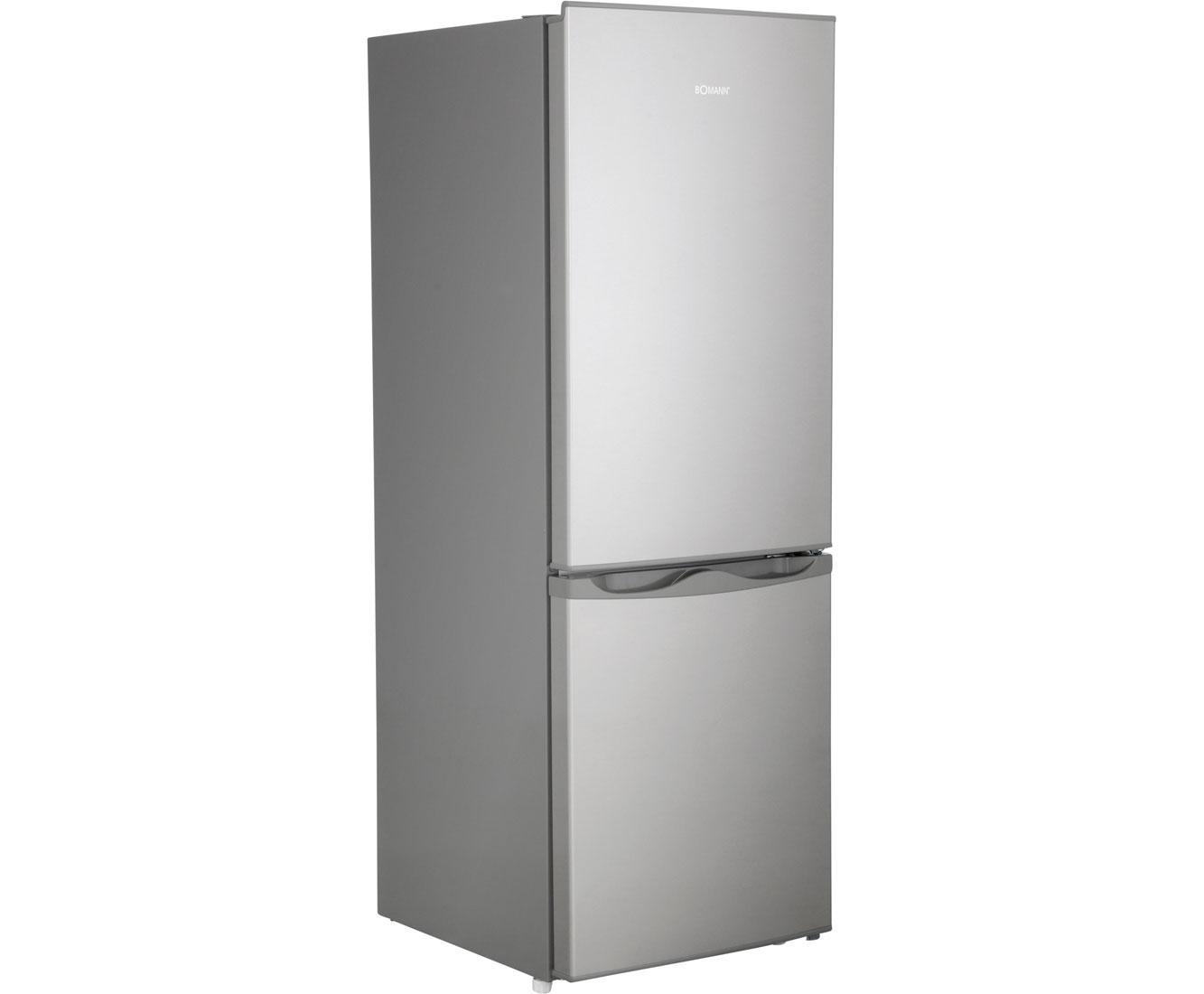 Bomann Kühlschrank Zubehör : Bomann kg kühl gefrierkombination edelstahl optik a