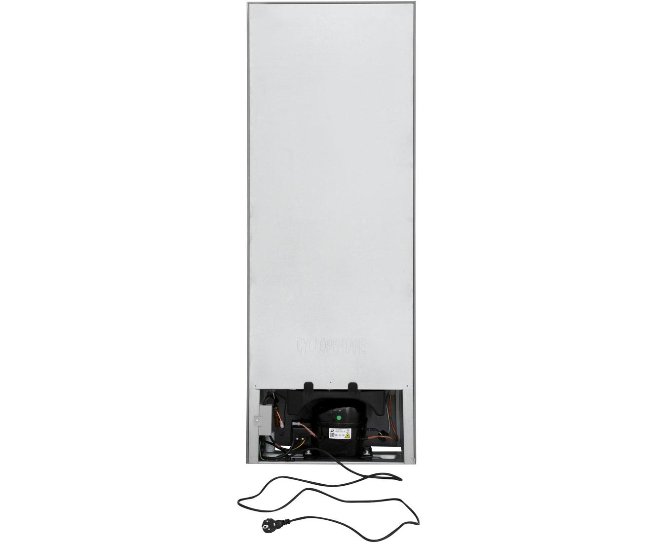 Bomann Kühlschrank Kombi : Bomann kg kühl gefrierkombination edelstahl optik a