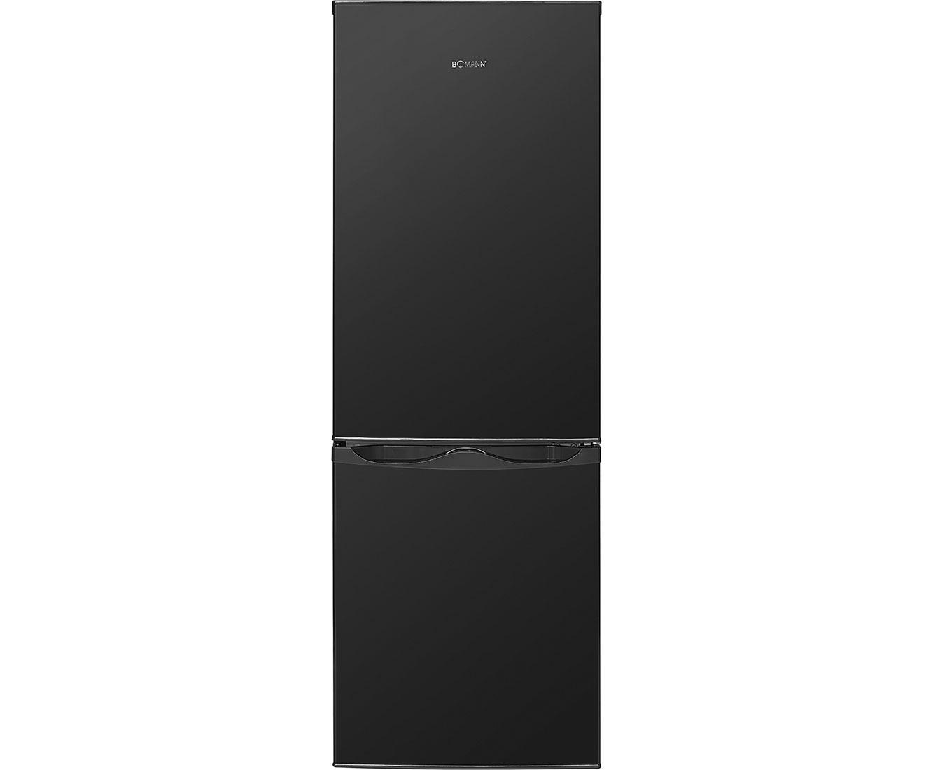 Bomann kg 322 kühl gefrierkombination schwarz a