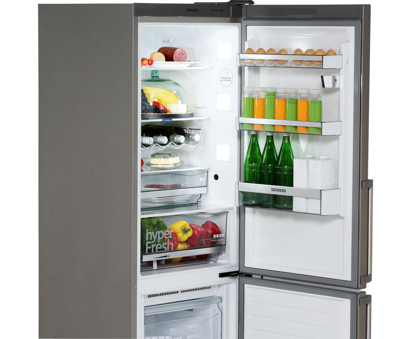 Siemens Kühlschrank Groß : Siemens iq kg nhi kühl gefrierkombination mit no frost mit