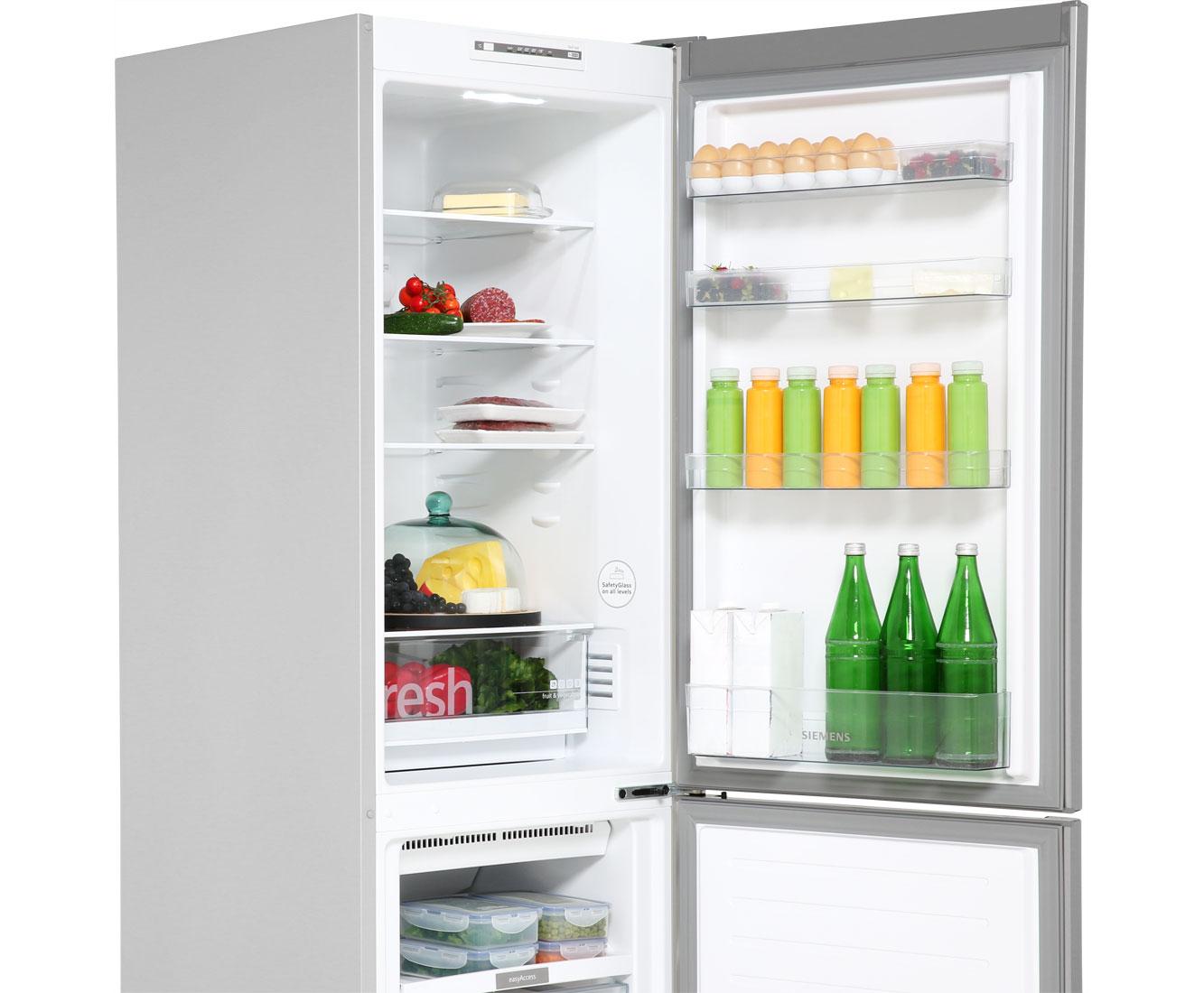 Siemens Kühlschrank Richtig Einräumen : Siemens iq kg nnl kühl gefrierkombination mit no frost