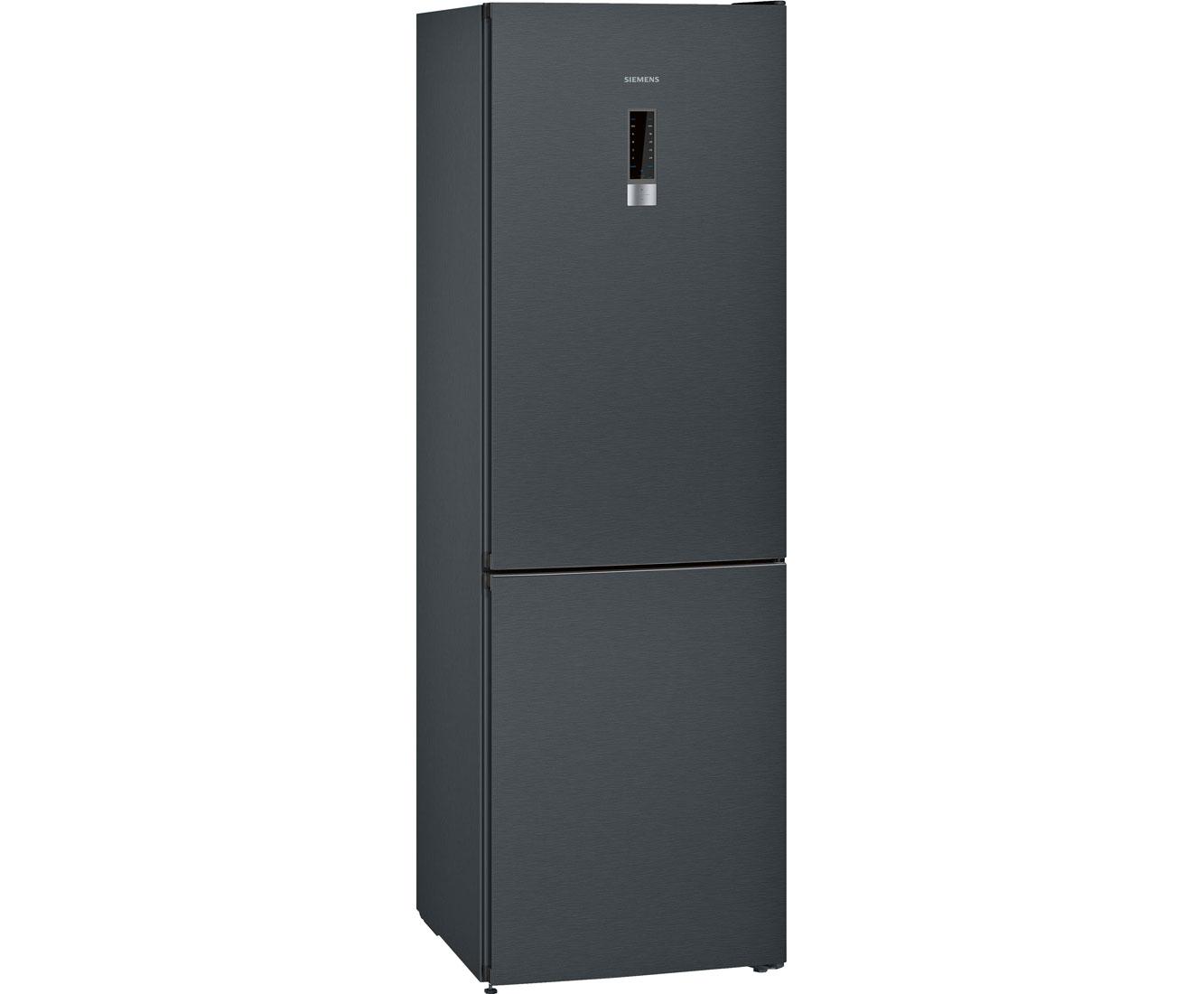 Siemens Kombi Kühlschrank : Siemens iq kg nxx a kühlschrank schwarz edelstahl a