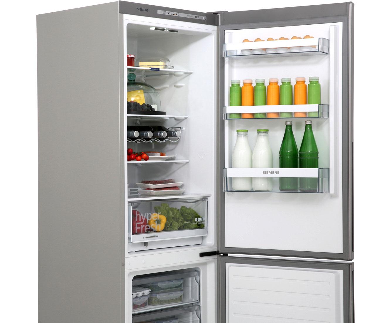 Kleiner Kühlschrank Siemens : Siemens kg36vvl32 kühl gefrierkombination 60er breite edelstahl