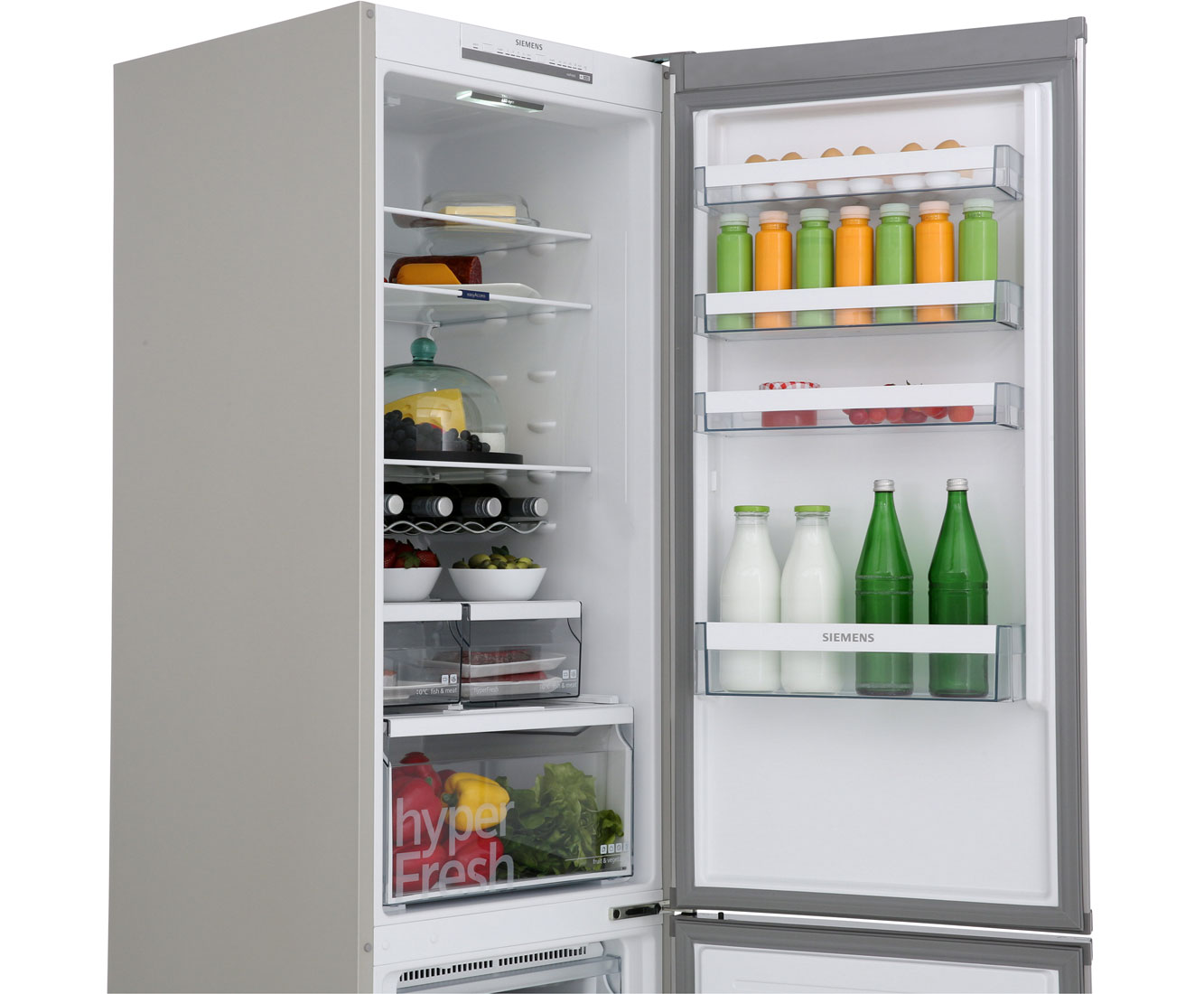 Siemens Kühlschrank Groß : Siemens iq kg nvl kühl gefrierkombination mit no frost