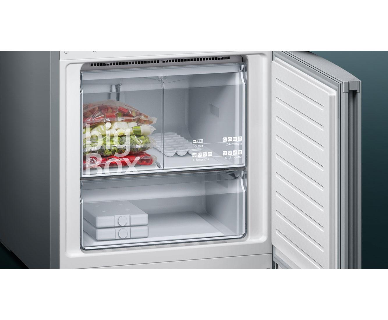 Siemens Kühlschrank Urlaubsschaltung : Siemens iq kg nxi kühl gefrierkombination mit no frost